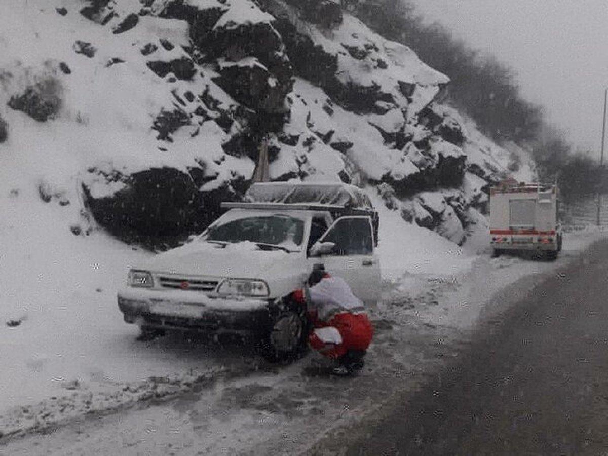 امدادرسانی به بیش از ۱۰ هزار نفر در برف و کولاک اخیر
