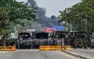 درگیری کودتاچیان و معترضان میانمار ۳۹ کشته بر جا گذاشت   معترضان کارخانه های چینی را به آتش کشیدند