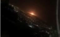 ویدیو   رویت شیئ نورانی در شرق تهران