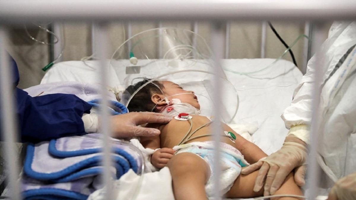 از ابتدای شیوع کرونا تا امروز ۵۷۰ کودک کرونایی بستری شدند