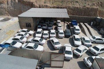 کشف ۶۵۷ خودروی احتکار شده طی ۷۲ ساعت در تهران و گیلان