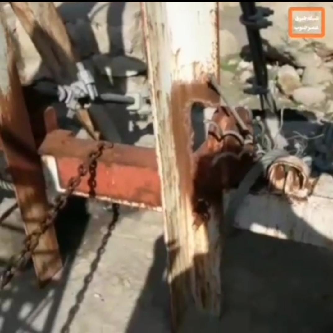 وضعیت خطرناک عبوری روستائیان نمناک دزفول + ویدئو