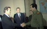 چرا رامسفلد در سال ۶۱ به سراغ صدام رفت؟   روایتی از گفت و شنود با دیکتاتور عراق درمورد ایران