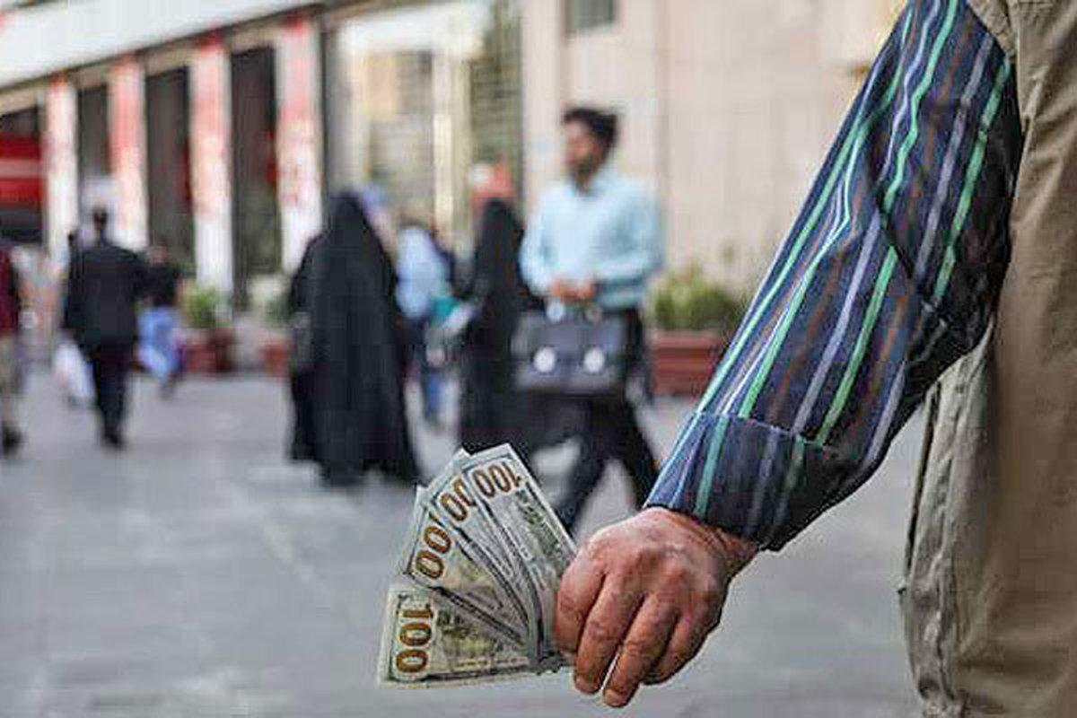 قمت ارز در بازار  |  کرایه کارت ملی در بازار برای خرید دلار