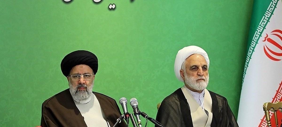 پیام تبریک رئیسی به رئیس جدید قوه قضائیه