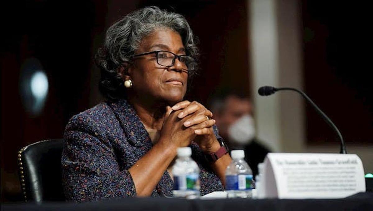 بایدن |  دومین زن سیاهپوستی برای نمایندگی آمریکا در سازمان ملل متعهد رأی اعتماد گرفت