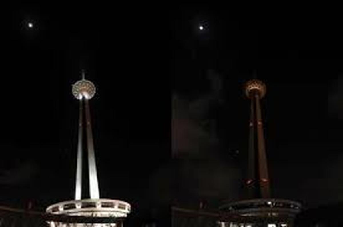 برج میلاد در شب رحلت امام خمینی (ره) یک ساعت خاموش می شود