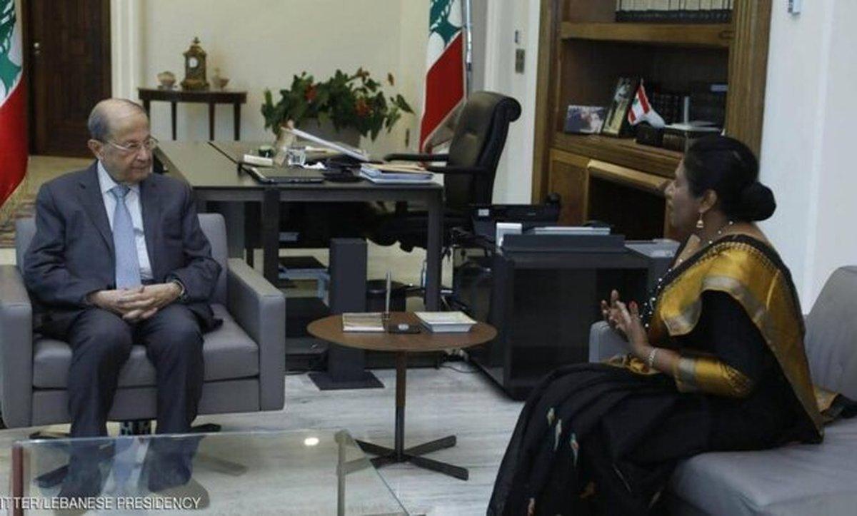 جنجال در لبنان در پی توزیع کمکهای سریلانکا به لبنان میان نیروهای گارد ریاستجمهوری