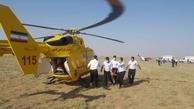 هواپیمای تک موتوره در اطراف فرودگاه آزادی نظرآباد کرج سقوط کرد
