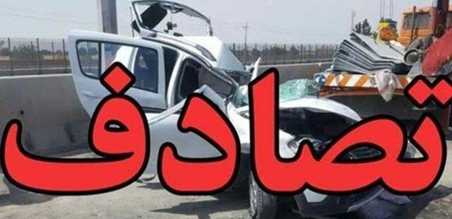 حادثه  |  2 فوتی و 12 مصدوم در تصادف یک اتوبوس