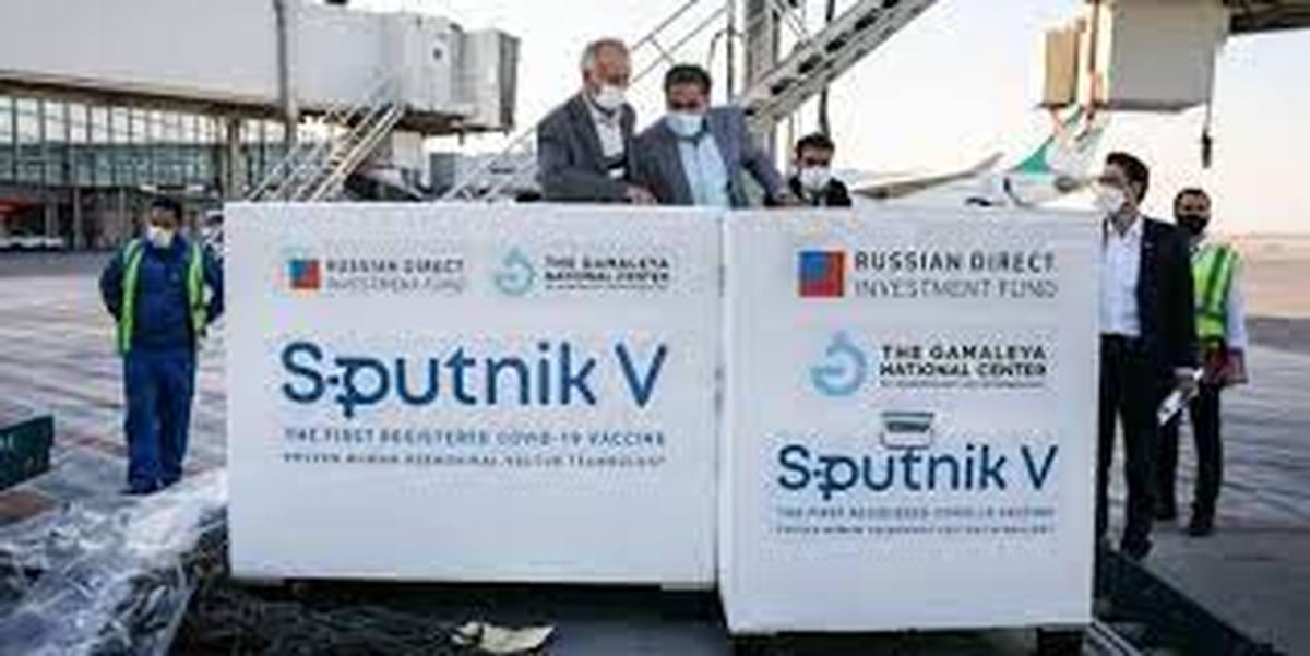 ارسال هشتمین محموله واکسن روسی به ایران