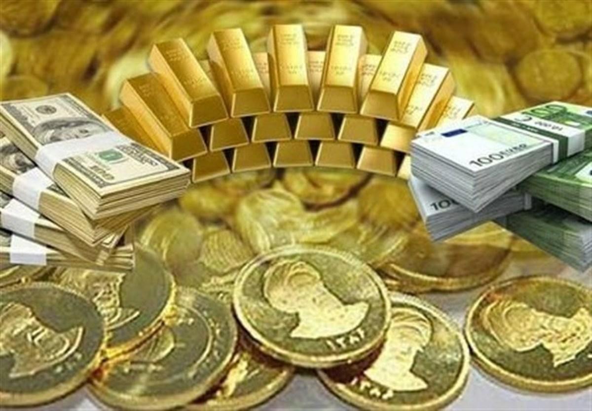 قیمت طلا، سکه و دلار دربازار + جدول