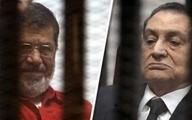 «حسنی مبارک» در دادگاه «محمد مرسی» حاضر نشد