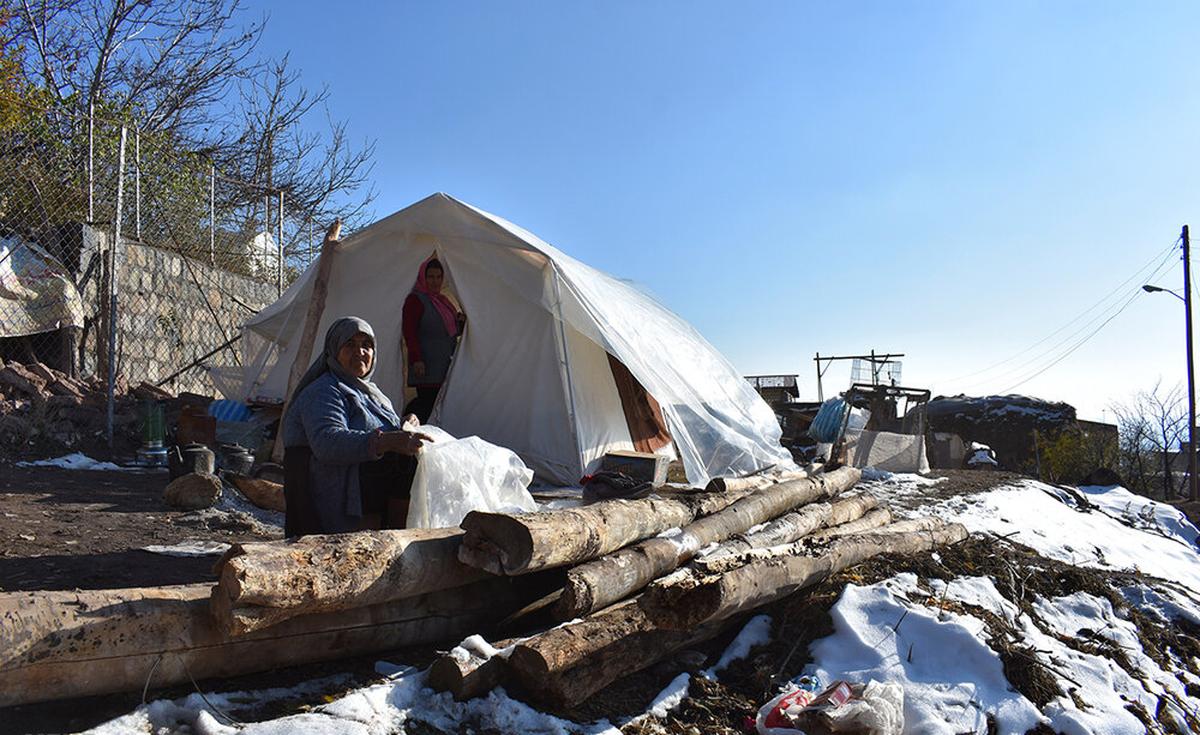 وضعیت تلخ مناطق زلزله زده شهرستان میانه
