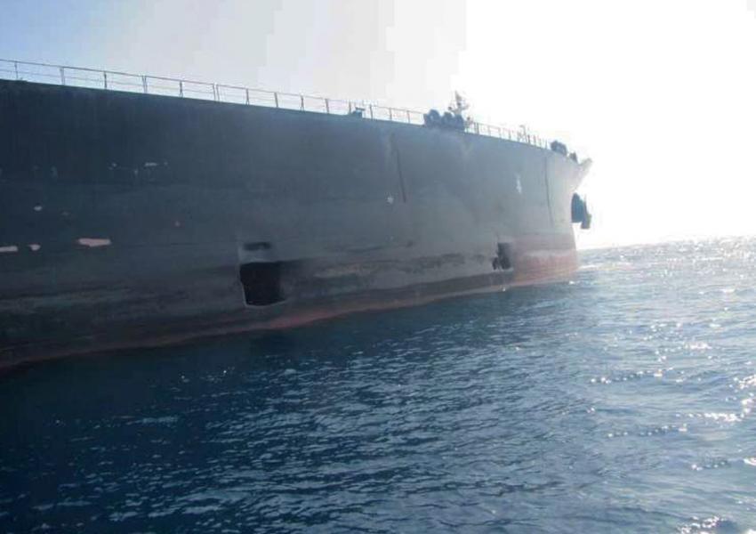 یک کشتی اسرائیلی  مورد هدف قرار گرفت
