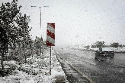 هواشناسی: برف و باران از شنبه