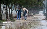 بارش باران در تهران و بسیاری از نقاط کشور