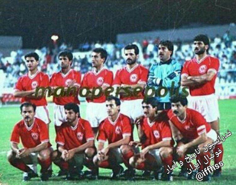 فوتبال  |  ورود پرسپولیس با ۲۷ نفر به زمین در دهه ۶۰