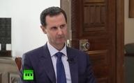 اسد: ایران، روسیه و چین در مساله بازسازی سوریه در اولویت هستند