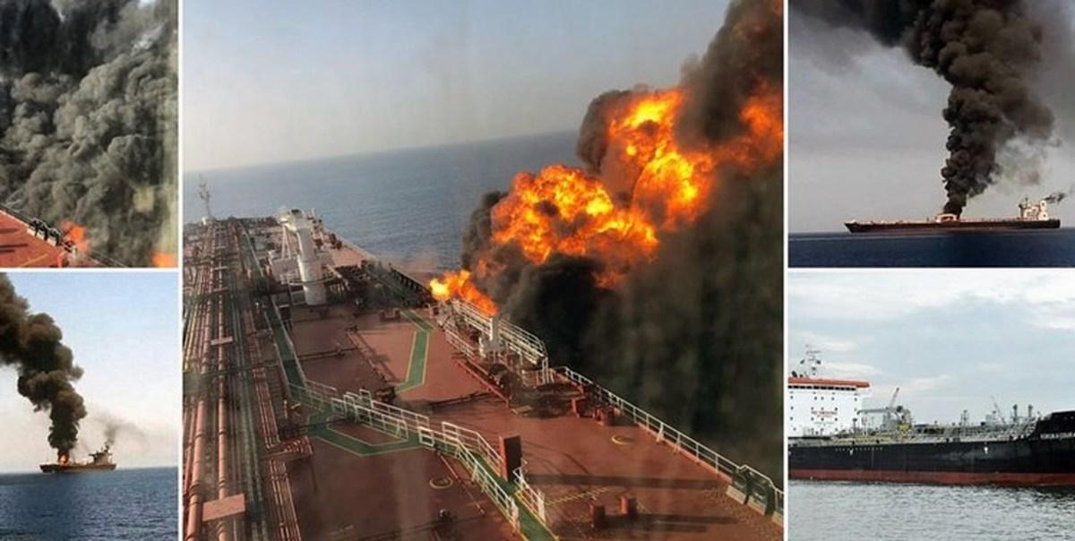 شرکت فرانتلاین: هیچ نفتکشی در خلیج عمان غرق نشد