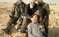 تصویری از سردار سلیمانی پس از فتح آخرین دژ داعش در البوکمال سوریه