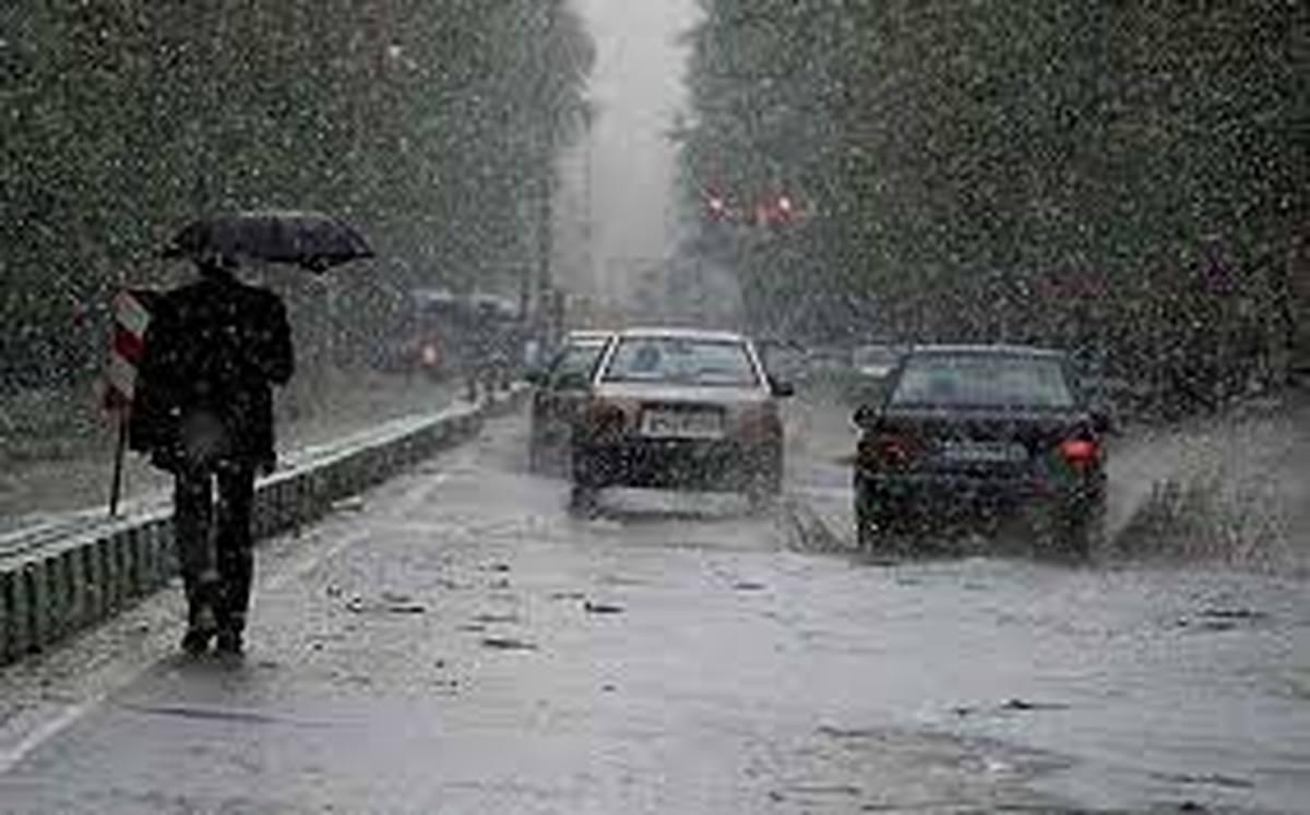 بارش 3 روزه در کشور با ورود سامانه ی جدید