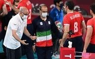 سرمربی والیبال نشسته ایران: بازیکنانم عالی بودند
