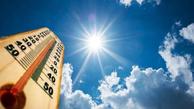 افزایش بیش از ۴۹ درجه دمای هوا در برخی شهرهای خوزستان