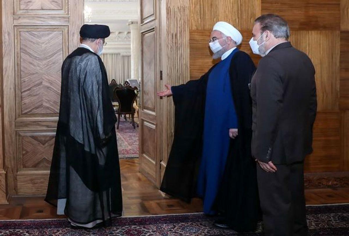 رییسی امروز به دیدار رییس جمهوری رفت