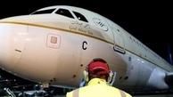 اولین هواپیمای سعودی پس از ۳سال به قطر نشست