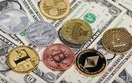 قیمت ارزهای دیجیتال |  افزایش قیمت بیتکوین  و کاهش اتریوم