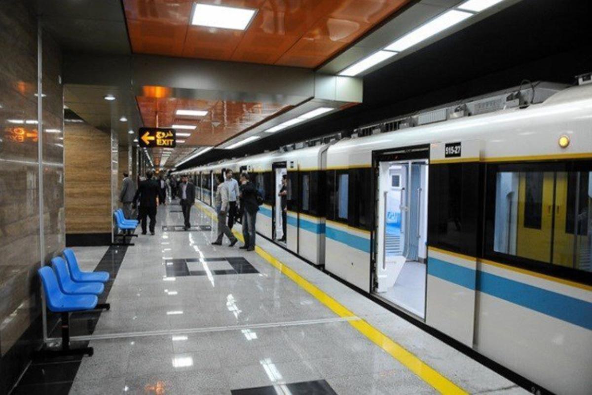 مترو | مسافرگیری در ایستگاه بسیج خط ۷ متروی تهران انجام نمی شود.