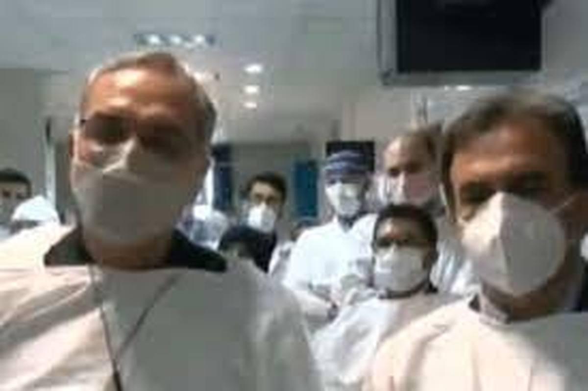 آقای وزیر بهداشت! مواظب باشید کرونا نگیرید