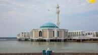 مسجد شناور جده  در کناره دریای سرخ