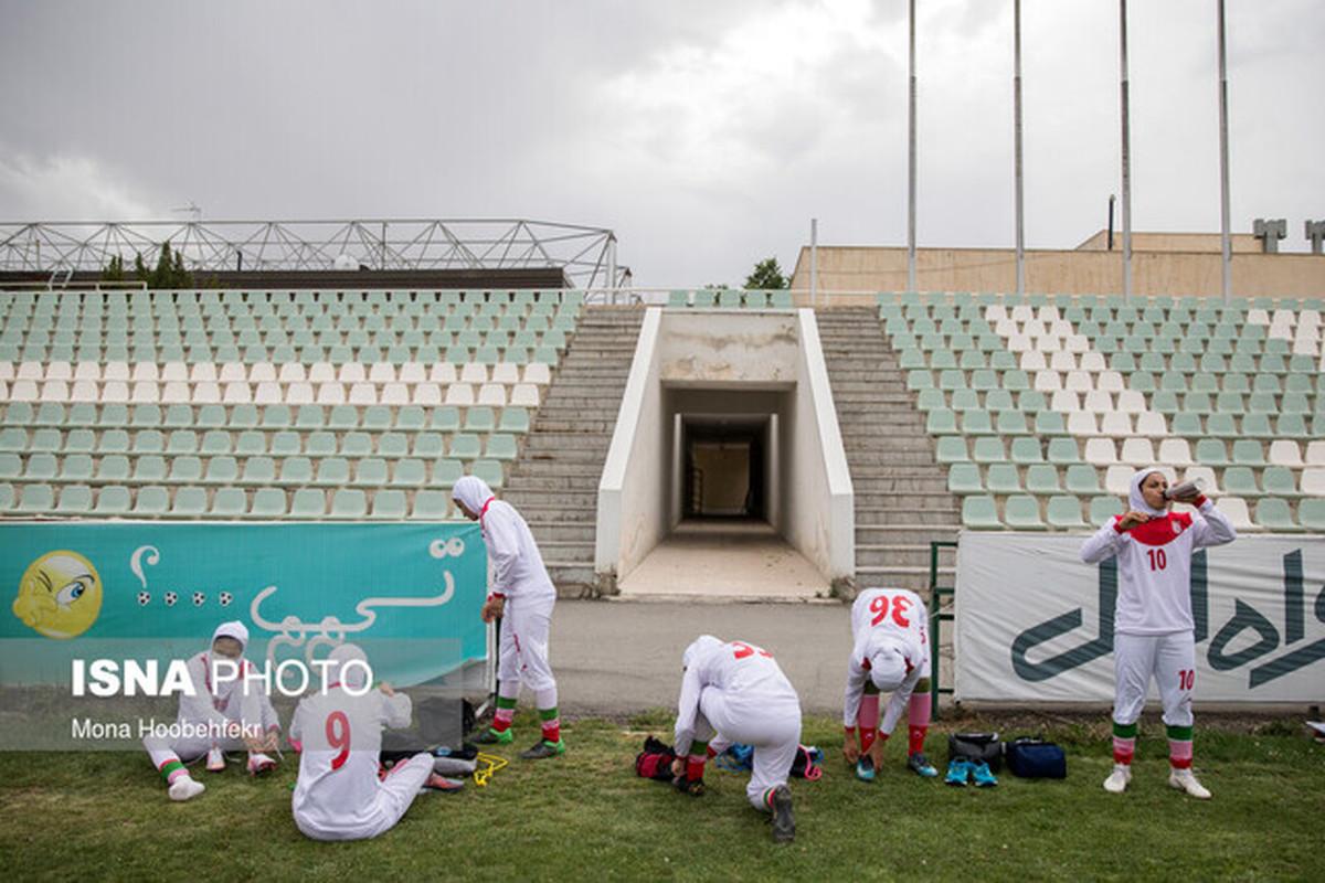 شکست تیم ملی فوتبال زنان ایران مقابل ازبکستان