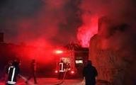 تجهیزات اطفای حریق | آتش سوزی سنگین در کارگاه مشهد  مهار گردید