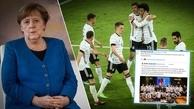 آرزوی موفقیت صدراعظم آلمان برای ژرمنها قبل از یورو