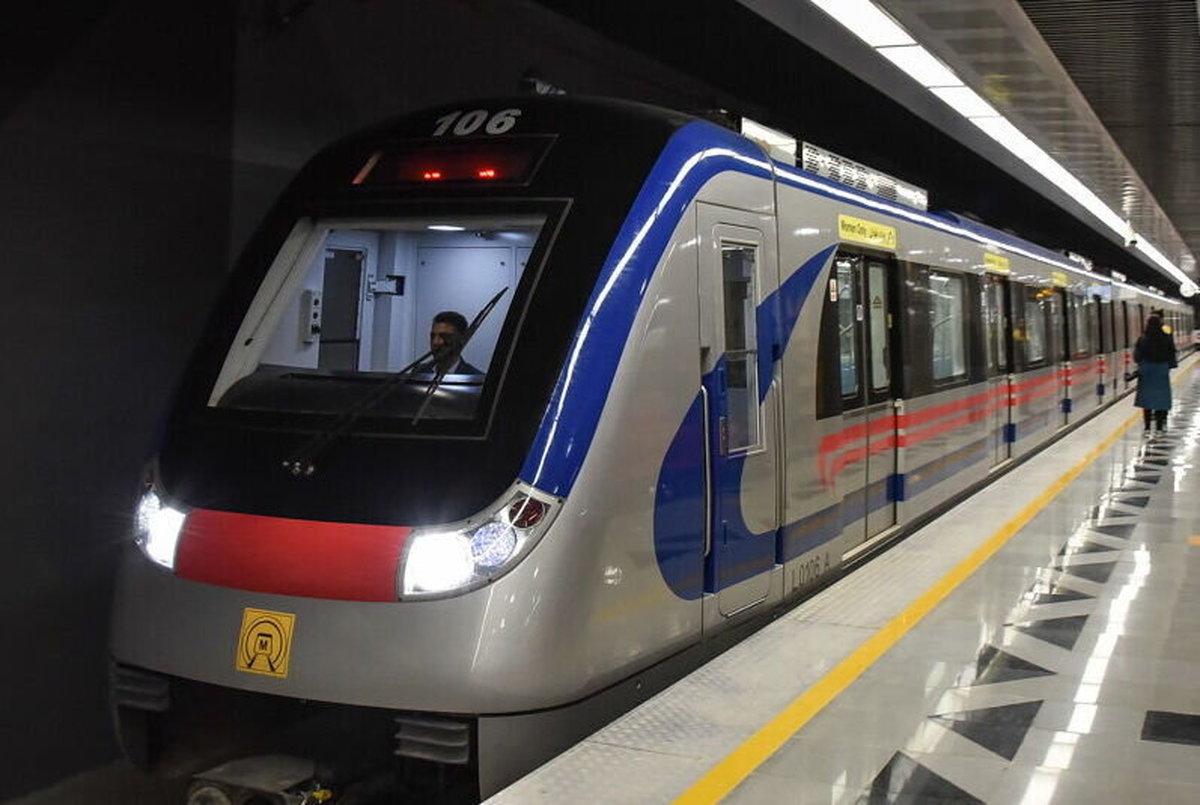 علت شلوغی و اعتراض مردم در مترو صادقیه