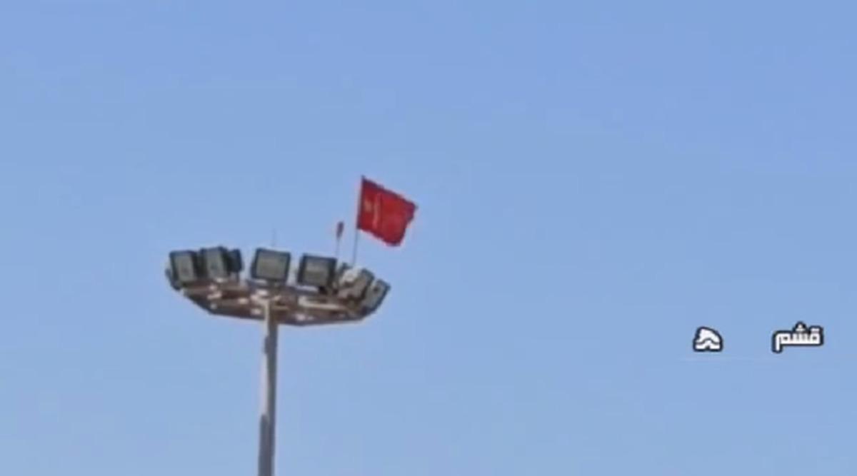 تکذیب نصب پرچم چین در جزیره قشم