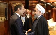 مکرون به روحانی:روابط تهران – پاریس می تواندتوسعه یابد
