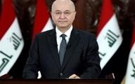 برهم صالح: سردار سلیمانی با داعش مبارزه کرد