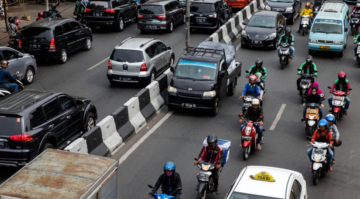 پرسه در خیابانهای رنگی جاکارتا