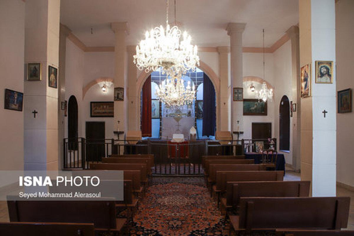 کلیسای «مریم مقدس» تنها کلیسای ارامنه مشهد