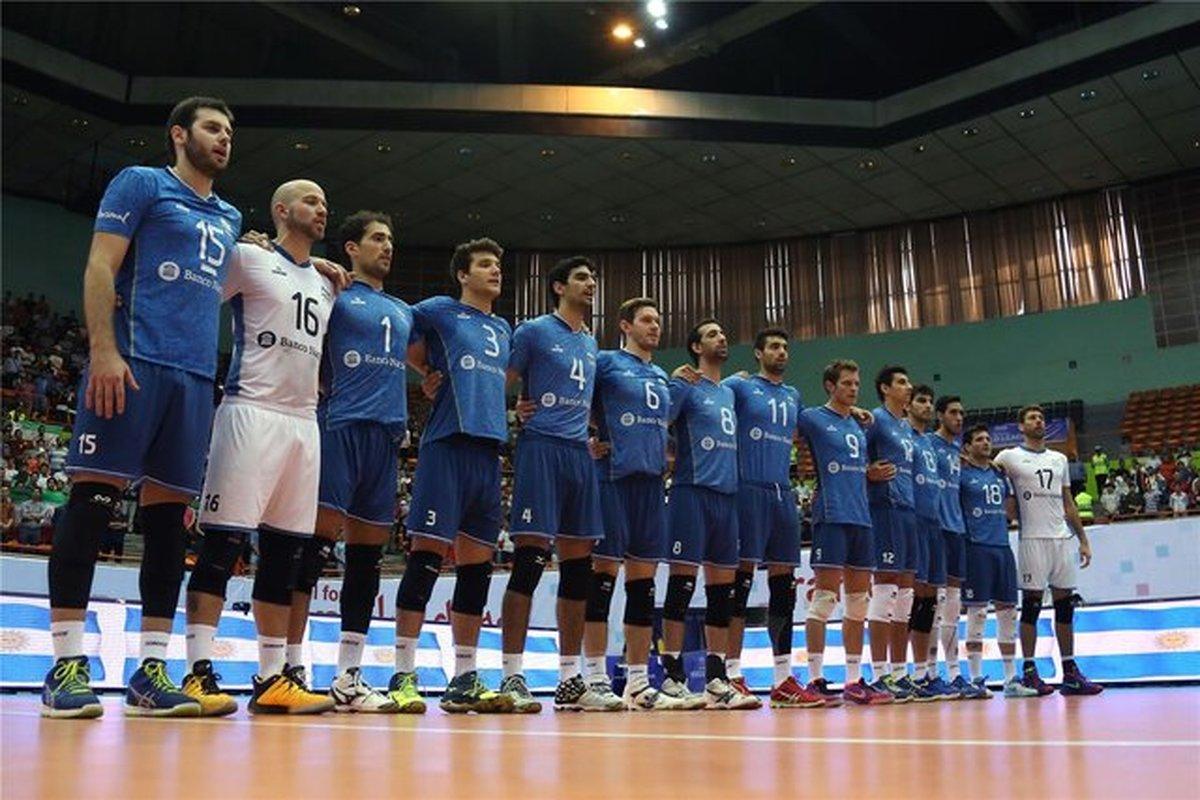 کرونا علیه تیم ملی والیبال آرژانتین| ۳ بازیکن کرونا گرفتند
