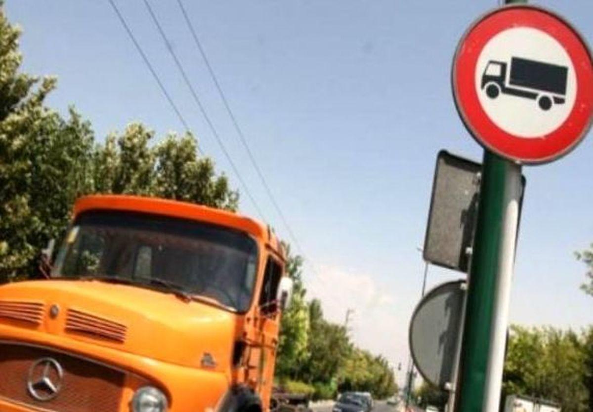 مقررات توقیف ساعتی رفت و آمد کامیون ها در تهران اعلام شد