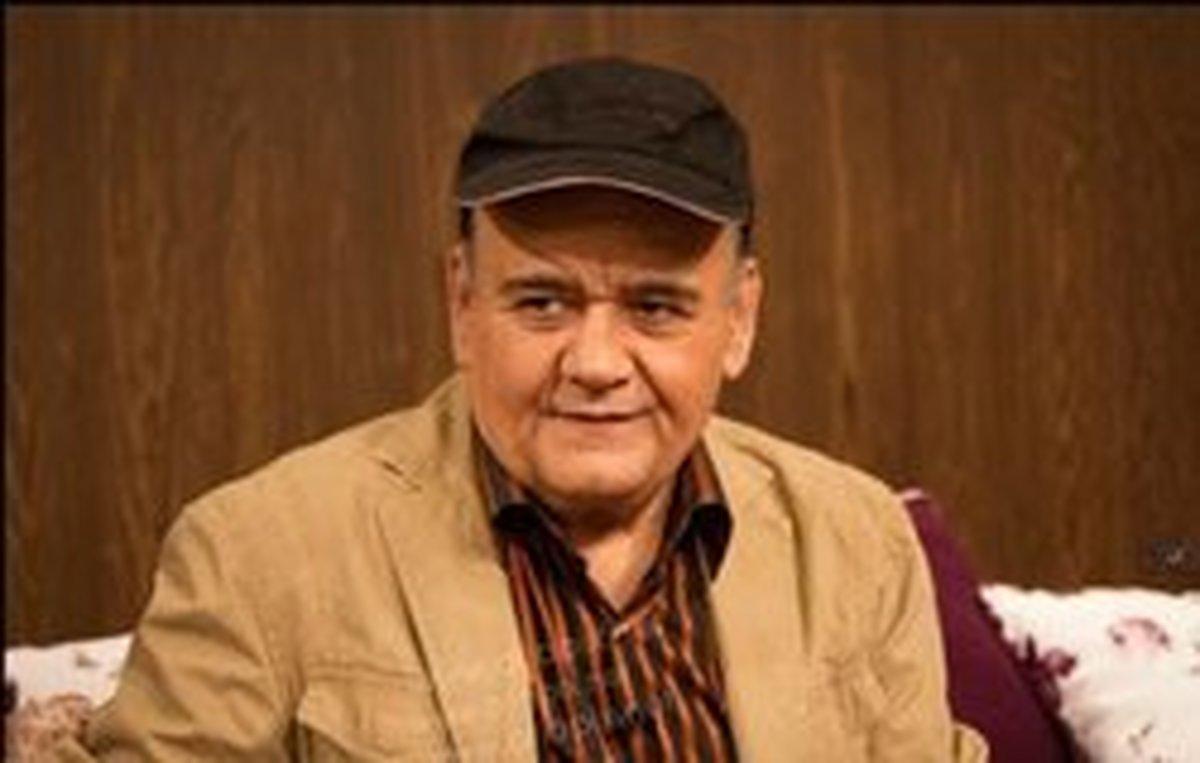 اکبر عبدی بازیگر سریال «نون خ» شد | تست گریم اکبر عبدی برای این سریال