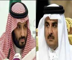 گفتگوی تلفنی امیر قطر با بن سلمان بعد از 3 سال