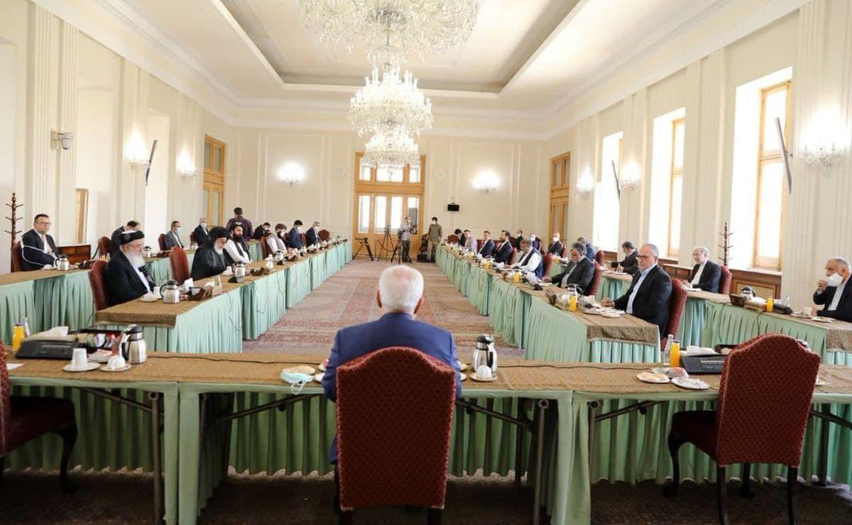 اعلامیه دو هیات افغانستانی حاضر در نشست تهران: جنگ راه حل مساله افغانستان نیست