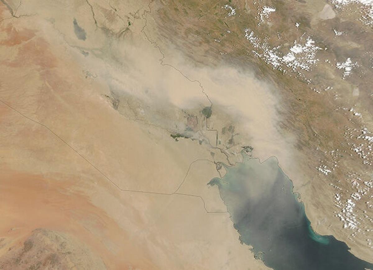 توده هوایی که به ایران میآید سمی است یا بی خطر؟