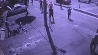 تصادف شدید پژو در خیابان شیخ بهایی + ویدئو